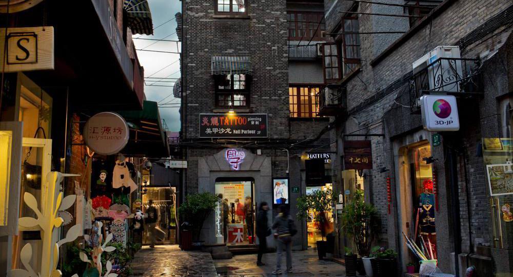 محله تیان زیفانگ (Tianzifang) شانگهای