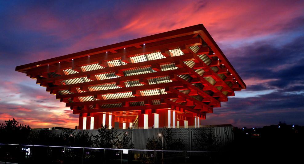 موزه هنر چین (the china art museum shanghai) در شانگهای