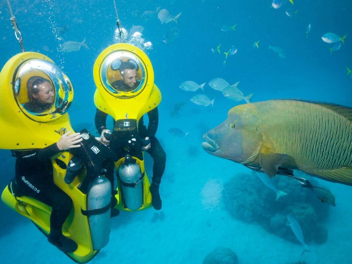سفر به بالی برای تفریحات زیر آب