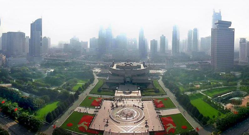 میدان خلق (People s Square) شانگهای چین