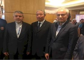 نشست صالحی امیری با یوزای چینگ ، آغاز دوباره برای عضویت در IOC