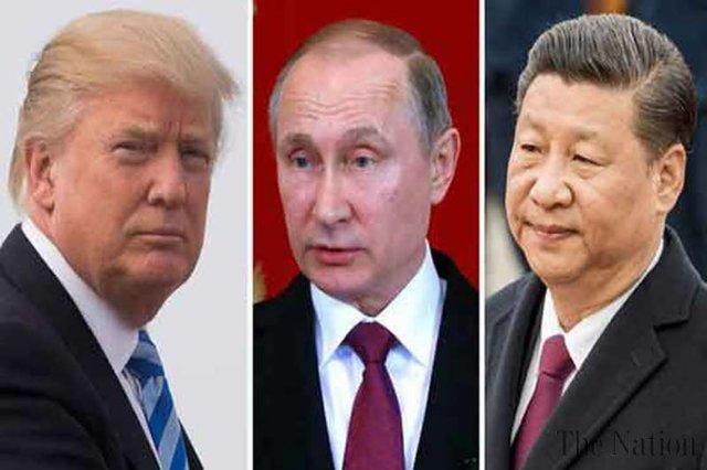 ترامپ: درباره یک توقف معنادار رقابت تسلیحاتی با رهبران روسیه و چین صحبت می کنم