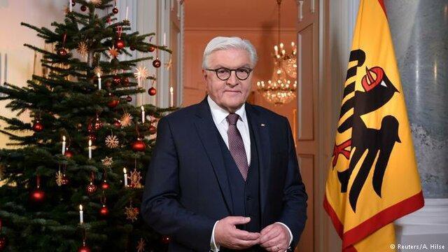 اشتاینمایر در پیغام کریسمس: آلمان از رخدادهای اروپا در امان نیست
