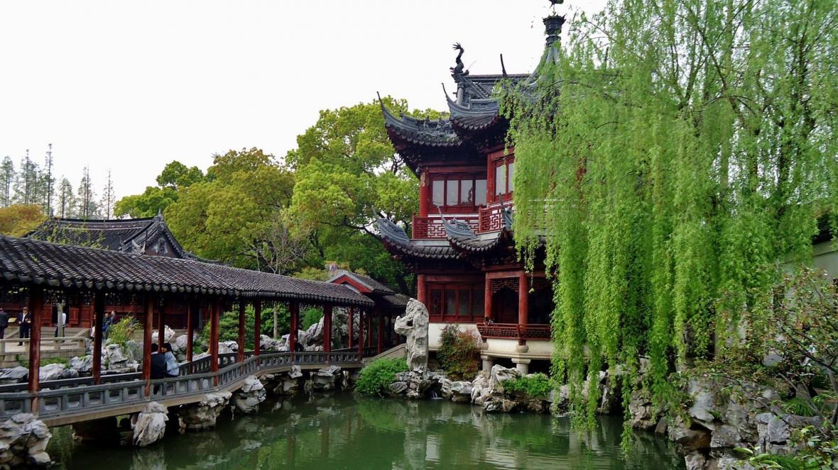 باغ یو (Yu Garden) یا باغ خوشبختی شانگهای