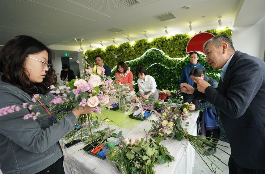 نمایشگاه بین المللی فرهنگ باغبانی چین گشایش یافت