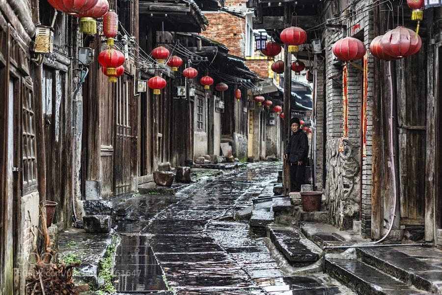 آشنایی با دهکده های باستانی در تور چین