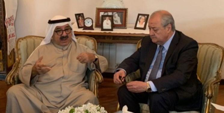 معاون اول نخست وزیر کویت با وزیر خارجه ازبکستان دیدار کرد