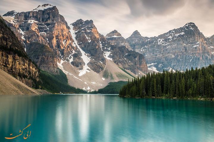 عکس های باورنکردنی از کوه های راکی کانادا