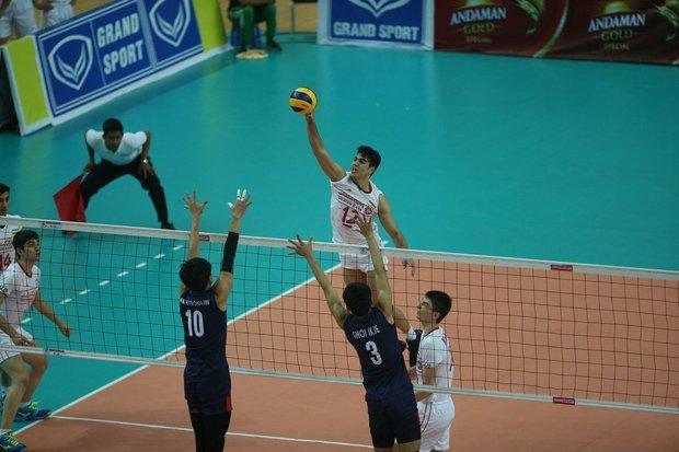 تیم والیبال امید تایلند از سد قزاقستان عبور کرد