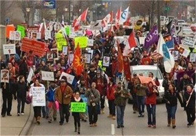 دیده بان حقوق بشر از تجاوز پلیس کانادا به زنان بومی این کشور اطلاع داد