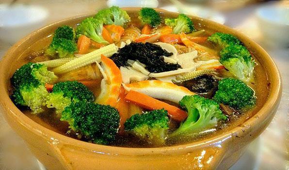 تجربه غذاهای ارگانیک و کاملا طبیعی در کوالالامپور