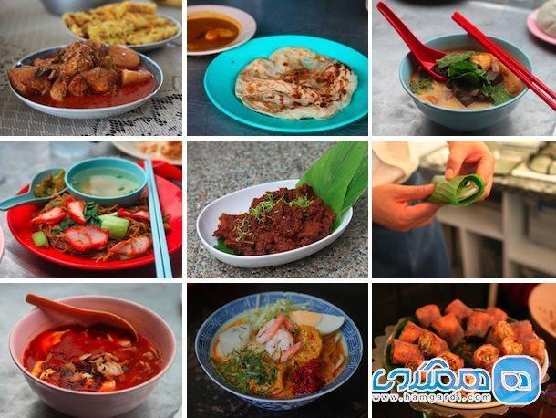 بهترین غذاهای خیابانی مالزی ، عالمی متنوع از مزه و رنگ