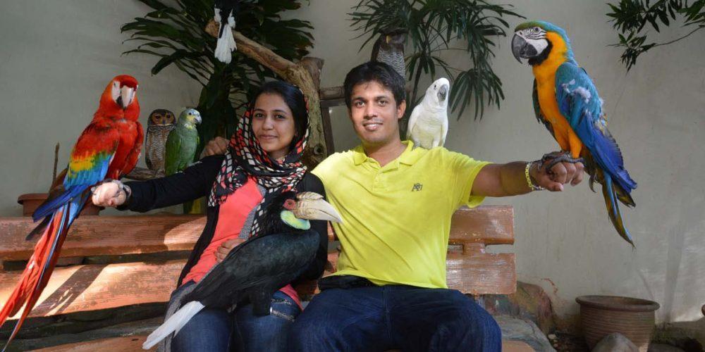 باغ پرندگان کوالالامپور، مالزی