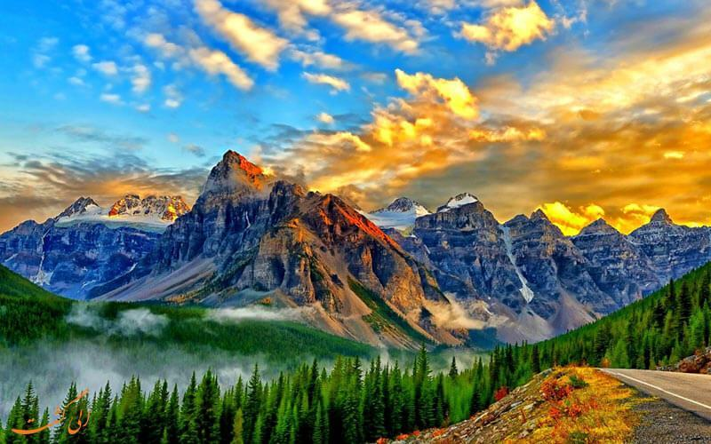 بهترین مسیرهای طبیعت گردی در کانادا