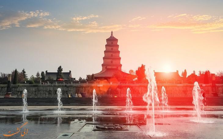 جاذبه های دیدنی شی آن چین