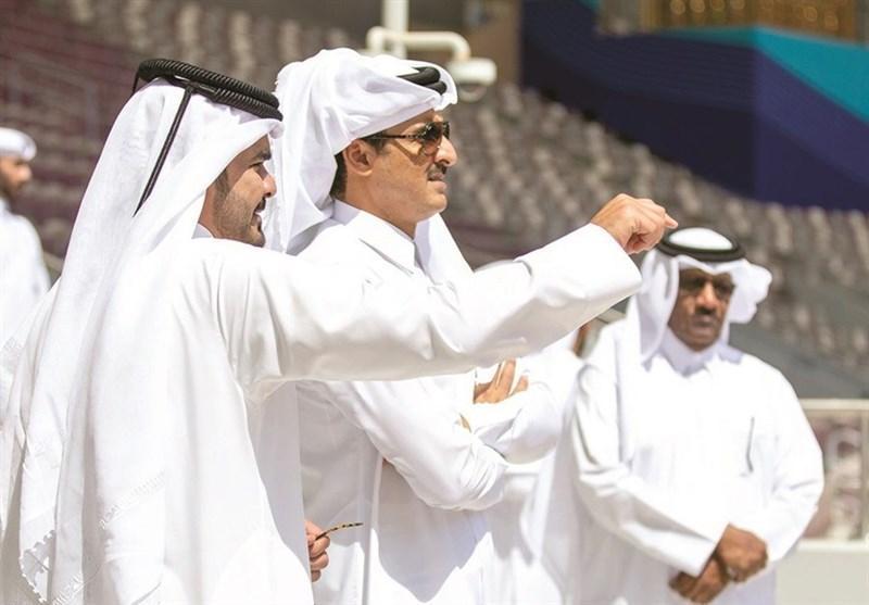 بازدید امیر قطر از استادیوم خلیفه و آموزشگاه اسپایر