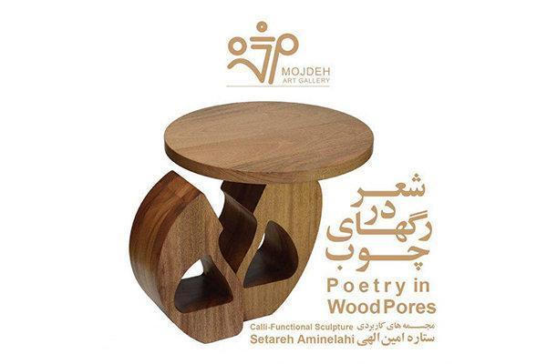 شعر در رگ های چوب به روایت هنرمند مقیم کانادا
