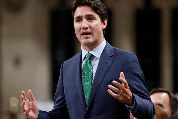 نخست وزیر کانادا پیروزی ماکرون را تبریک گفت