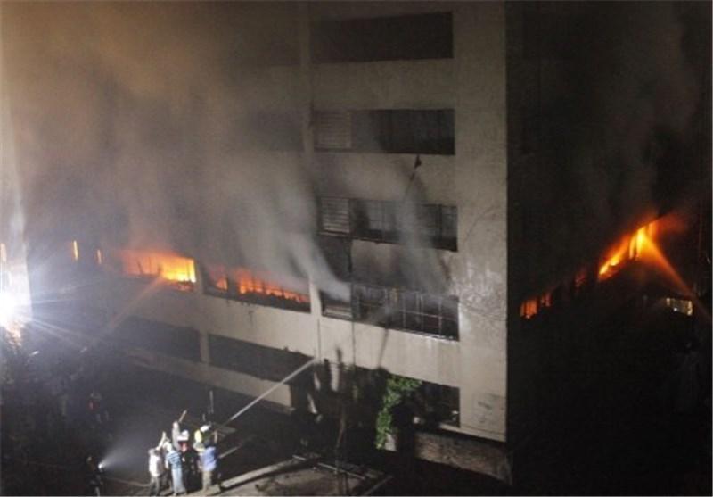 16 کشته در آتش سوزی کارخانه فراوری کفش در چین