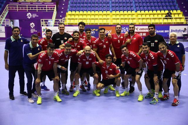 شکست تیم ملی هندبال ایران در بازی محبت آمیز