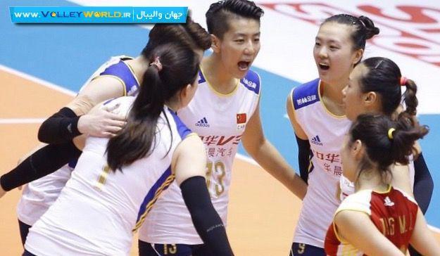 چین قهرمان کاپ والیبال زنان آسیا شد