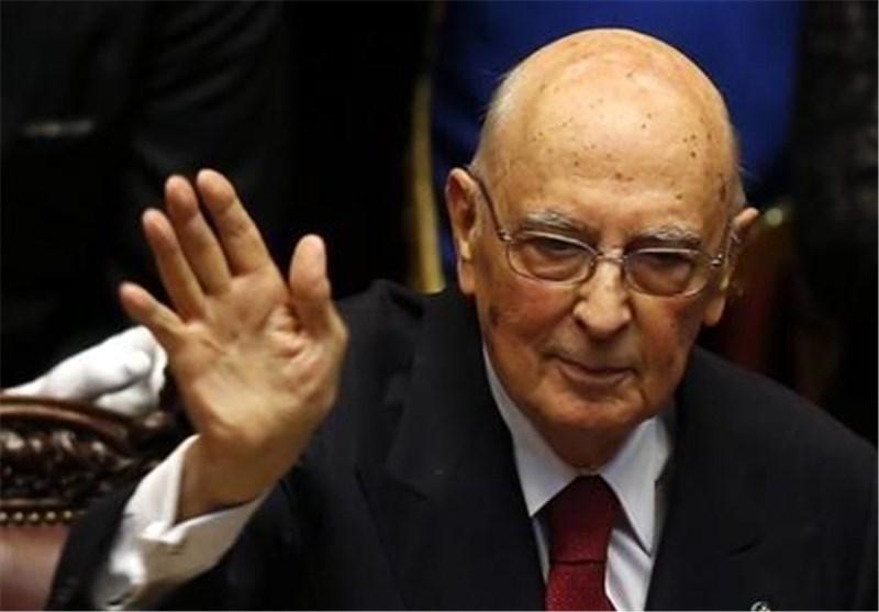 رئیس جمهور ایتالیا به زودی کناره گیری می نماید