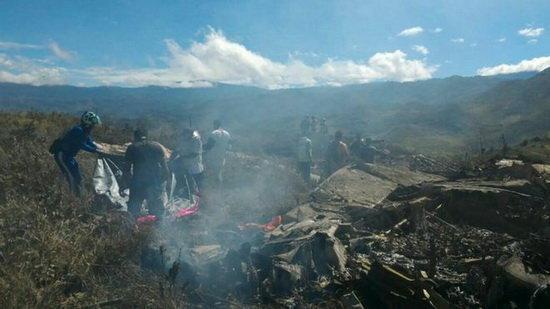 سقوط مرگبار هواپیمای نیروی هوایی اندونزی
