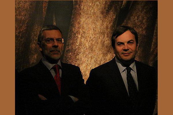 حضور معاونان وزرای ایتالیا در موزه هنرهای معاصر تهران