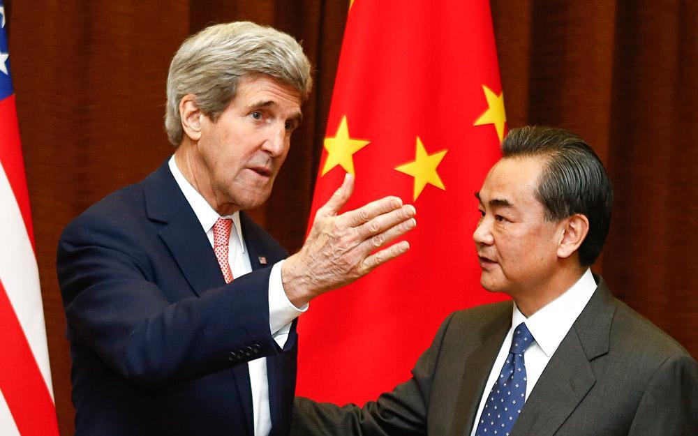 گفتگوی وزیر امور خارجه چین با همتای آمریکاییش