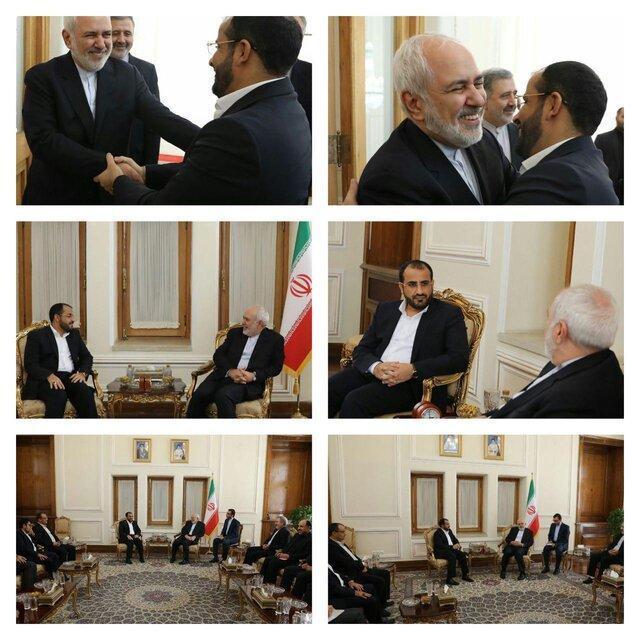 توییت ظریف پس از دیدار با سخنگوی انصارالله