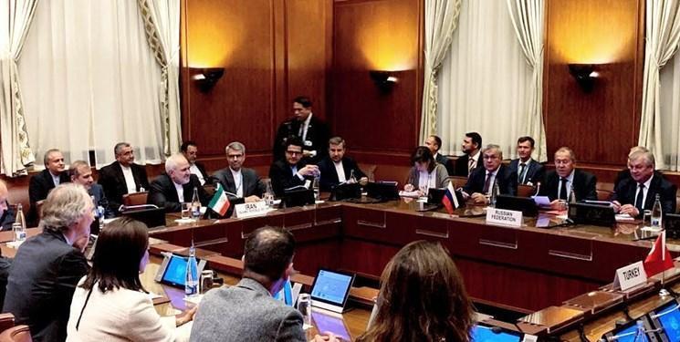 نشست چهارجانبه ایران، روسیه، ترکیه و سازمان ملل در ژنو با موضوع کمیته قانون اساسی سوریه