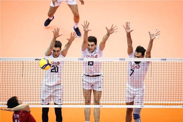 والیبال ایران بازی برده را به ایتالیا باخت