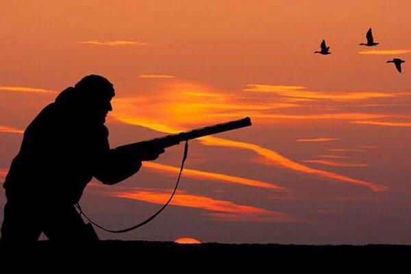 برخورد با شکارچیان پرندگان مهاجر گیلان