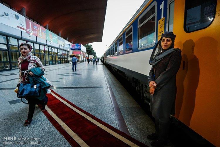 قطار زندگی، سفری لوکس از تهران تا مشهد