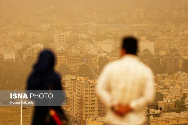 شاخص آلودگی هوا در همدان به 500 رسید؟