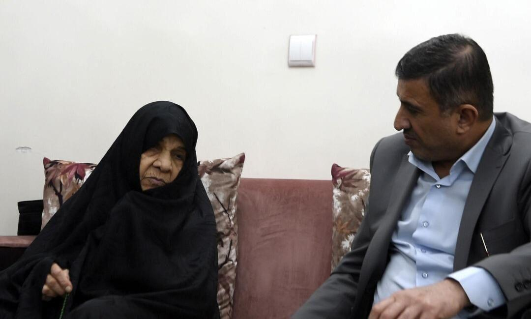 خبرنگاران استاندار البرز درگذشت مادر شهیدان فهمیده را تسلیت گفت