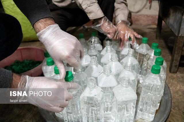 کشف 350 میلیون ریال مواد ضدعفونی کننده احتکار شده در بیرجند