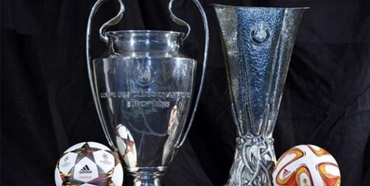 تعویق مسابقات لیگ قهرمانان و لیگ اروپا به ماه ژوئن یا آگوست