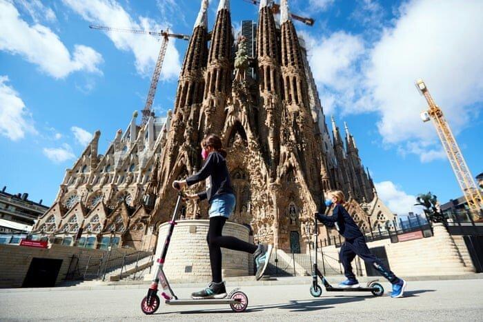 بارسلونا؛ شهر ارواح ، کرونا 30 میلیون گردشگر را فراری داد