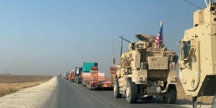 50 کامیون تجهیزات نظامی و لجستیک آمریکا از عراق وارد سوریه شد