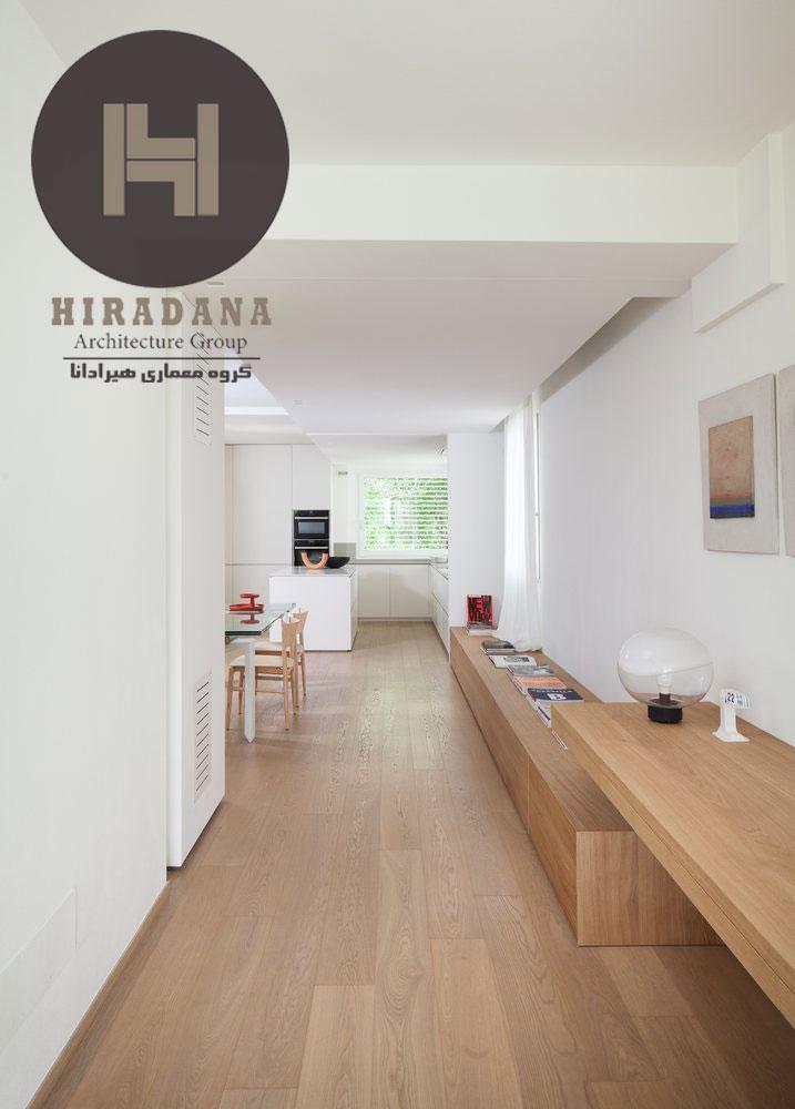بازسازی و طراحی خانه ای دوبلکس در تورین ایتالیا