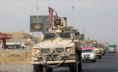 حمله راکتی به کاروان لجستیکی ائتلاف آمریکایی در بابل