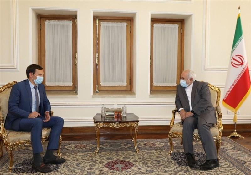 دیدار معاون وزیر خارجه اوکراین با ظریف