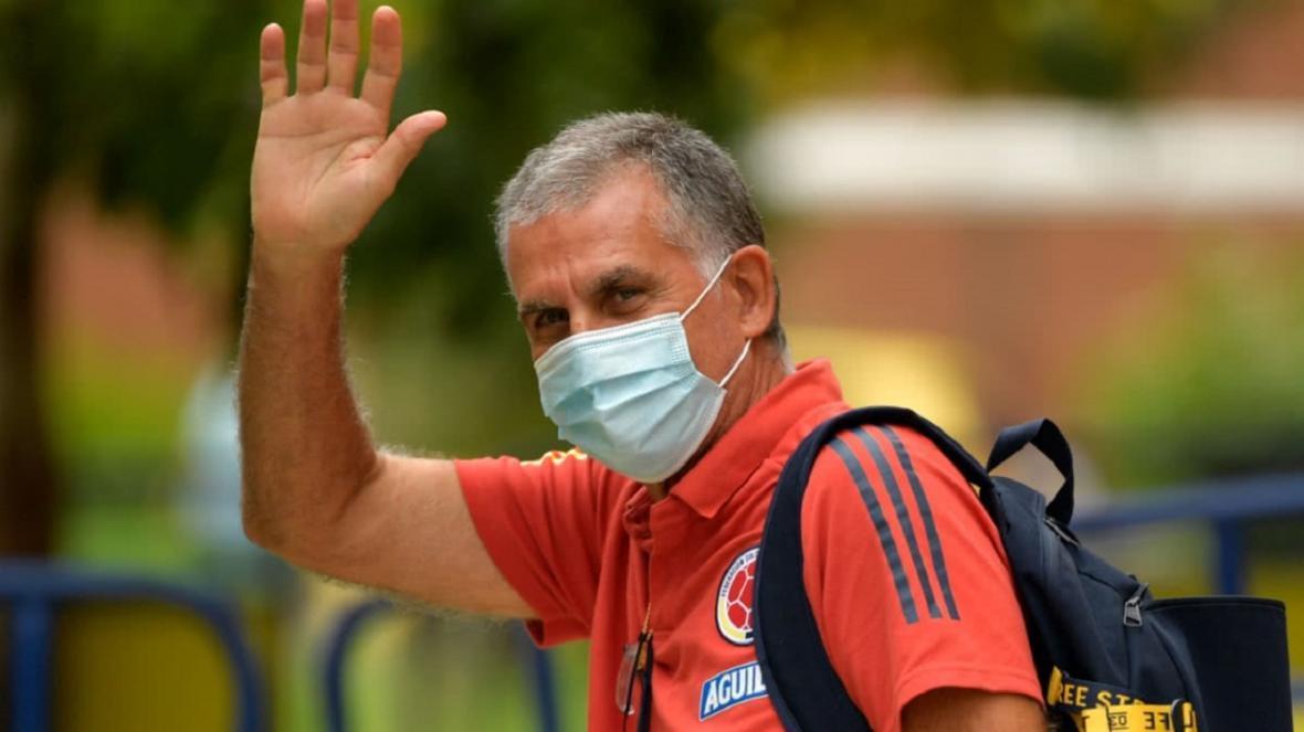 کی روش از کادر فنی تیم ملی فوتبال کلمبیا خداحافظی کرد