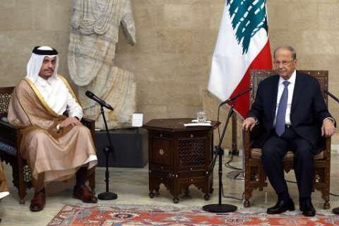 وزیر خارجه قطر با ماموریت ترغیب گروه های لبنانی به مذاکره به بیروت می رود