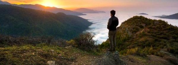 روستای فیلبند؛ تجربه راه رفتن روی ابرها