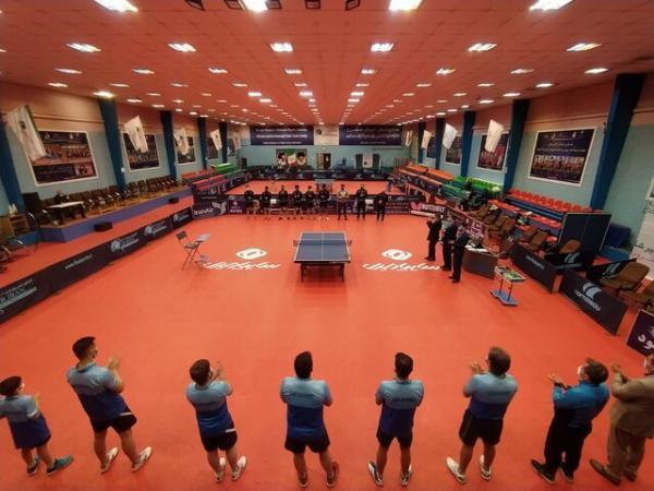 صعود فراسنج و شهرداری کرج به نیمه نهایی لیگ برتر تنیس روی میز، رقابت 6 تیم در پلی آف