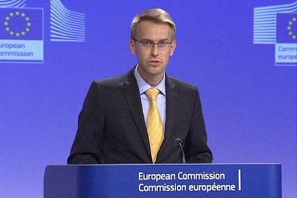 استقبال اتحادیه اروپا از اقدام برجامی آمریکا