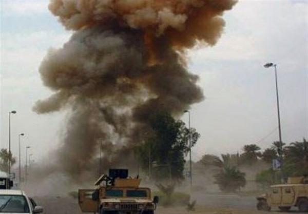 خبرنگاران انفجار بمب در راستا کاروان پشتیبانی ائتلاف بین المللی در عراق
