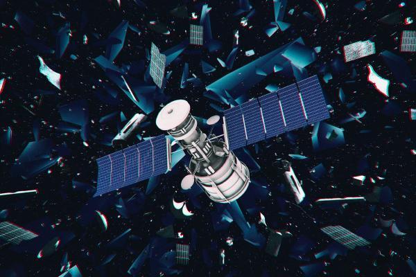 ترافیک در مدار زمین، احتمال تصادف فضایی